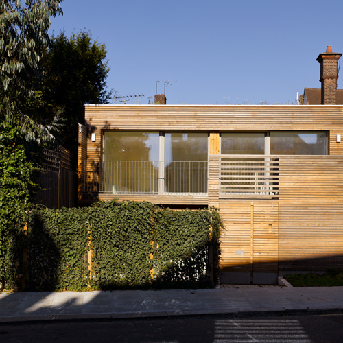 Camden Passivhaus - GHA BPE Study funded by TSB