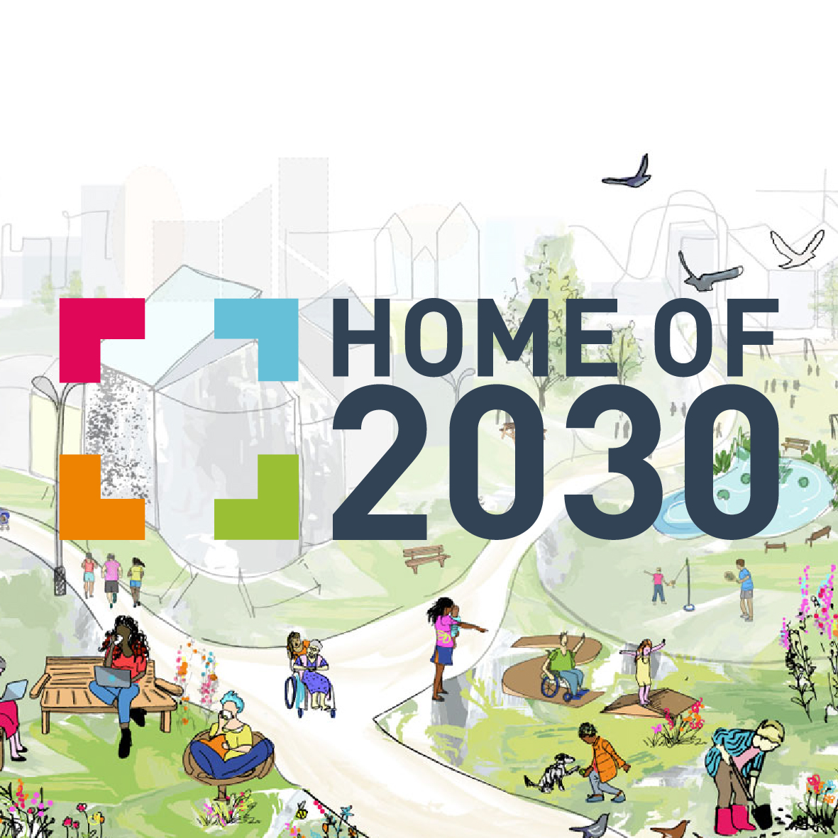 +Home and Connector Housing joint winners of Home Of 2030 design competition